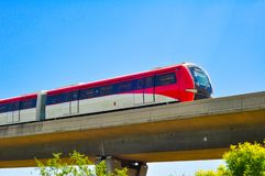 City light  Rail Transit system. City Rail Transit system in china royalty free stock images