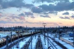 City railway Royalty Free Stock Photos