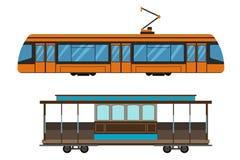 City railway transport vector illustration. Stock Photography