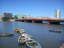 City of Recife in Pernambuco Brazil royalty free stock images