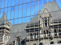 City Reflections Stock Images
