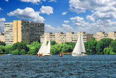 City regatta Stock Image