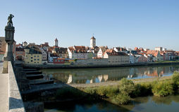 City of Regensburg Royalty Free Stock Photo