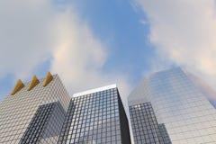 City render. Idea concept 3d Stock Photo