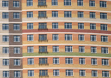 City residential building front view closeup Stock Images