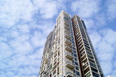 City residential buildings Royalty Free Stock Image