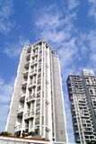 City residential buildings Royalty Free Stock Photos