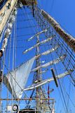 The city resort of Sochi, Russia, sailing regatta Royalty Free Stock Photos
