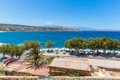 City Rethymno on beach of Island Crete Stock Photography