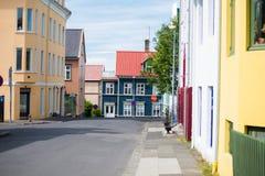 City of Reykjavik, Iceland Stock Photography