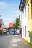 City of Reykjavik, Iceland Stock Image