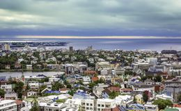 City of Reykjavik panorama Stock Photo