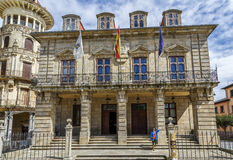 City of Ribadeo in Lugo Royalty Free Stock Images