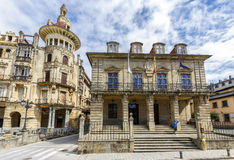 City of Ribadeo in Lugo Royalty Free Stock Photo