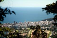 City of Rio de Janeiro from Corcovado Stock Image
