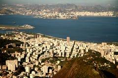 City of Rio de Janeiro from Corcovado Stock Photos