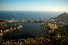 City of Rio de Janeiro from Corcovado Royalty Free Stock Photography