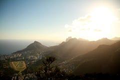 City of Rio de Janeiro from Corcovado Royalty Free Stock Image