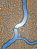 City river royalty free illustration