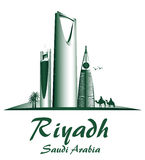 City of Riyadh Saudi Arabia Famous Buildings Stock Photography