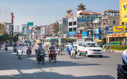 City Road. Saigon (Ho Chi Minh), Vietnam Stock Image