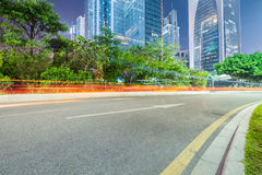 City road background Royalty Free Stock Photography