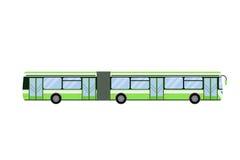 City road bus transport vector illustration. Stock Photo