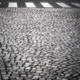 City road with crossing Royalty Free Stock Photos