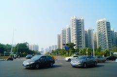 City Road krajobraz obraz stock