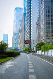 City road in shanghai Royalty Free Stock Image
