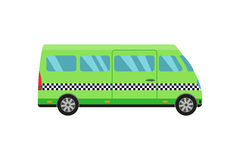 City road taxi transport vector illustration. Stock Image