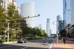 City road in Tianhe Stock Photo