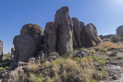 City of Rocks close view Stock Images