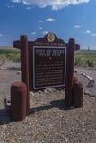 City of Rocks Historic Marker Royalty Free Stock Photos