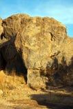 City of rocks-7. Landscape shot of volcanic rock formations Stock Photos