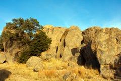 City of rocks-8. Landscape shot of volcanic rock formations Stock Image