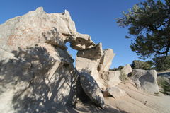 City of Rocks National Preserve, Idaho Stock Image