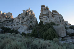 City of Rocks National Preserve, Idaho Royalty Free Stock Photo