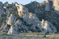 City of Rocks National Preserve, Idaho Royalty Free Stock Images