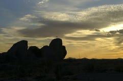 City of Rocks, New Mexico Stock Photo
