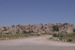 City of Rocks state park. Royalty Free Stock Image