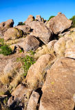 City of Rocks State Park Royalty Free Stock Image