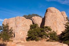 City of rocks-2. City of Rocks volcanic rock formation Royalty Free Stock Photo