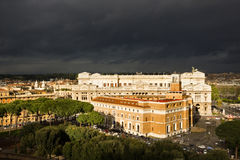 City of Rome Italy Stock Photos