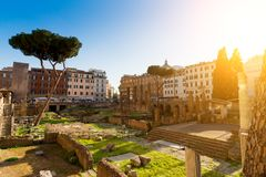 City of Rome, Italy. During summer Stock Photography