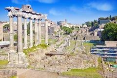 City Rome. Roman Forum Stock Photography