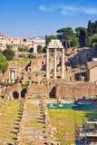 City Rome. Roman Forum Stock Photos