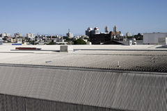 City Roof Stock Image