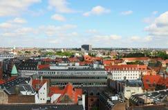 City and roofs. Copenhagen, Denmark Stock Images