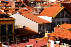 City roofs at Porto Stock Image